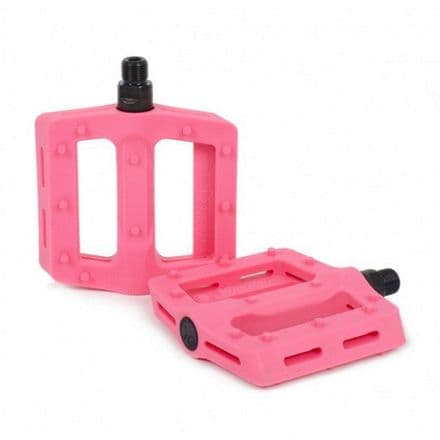 Shadow Surface Pedals - Double Bubble Pink 9/16""