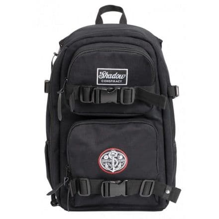 Shadow X Greenfilms Mark III DSLR Backpack - Black With Crow Camo Interior