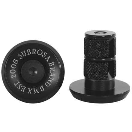 Subrosa Bitchin Bar Ends - Black