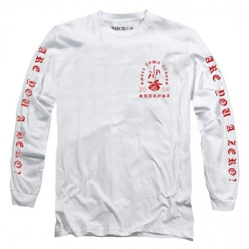 Subrosa Heroes L/S T-Shirt - White XL