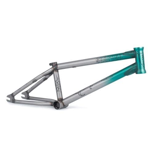 """Subrosa Young Rose 18"""" Frame - Trans Teal Fade 18"""""""