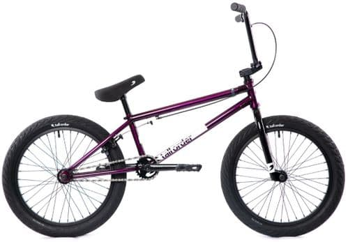 Tall Order 2022 Pro Bike Gloss Translucent Purple With Black Parts