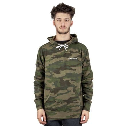 Tall Order Embroidered Logo Sweatshirt - Camo Large
