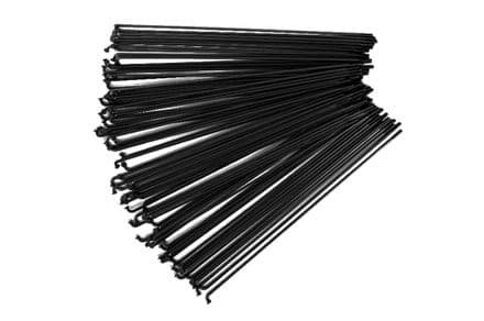 Total BMX Double Butted Spokes (Pack Of 40) - Black 194mm