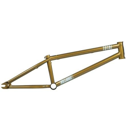 Total BMX Killabee K4 Frame - Metallic Gold 19.75""