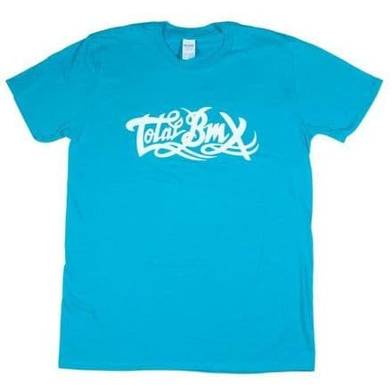 Total BMX Original Logo T-shirt - Blue Medium