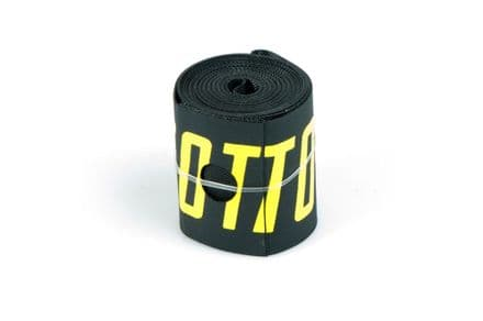 Total BMX Rim Tape - Black With Yellow Logo