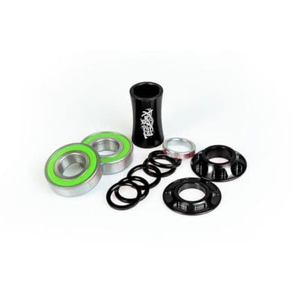 Total BMX Team Mid Bottom Bracket - Black 19mm