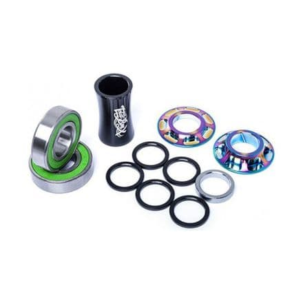 Total BMX Team Mid Bottom Bracket - Rainbow 19mm