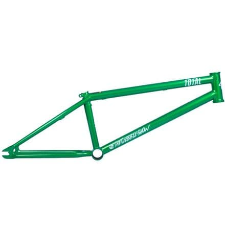 Total BMX TWS 2 Frame - Metallic Green 21.25""
