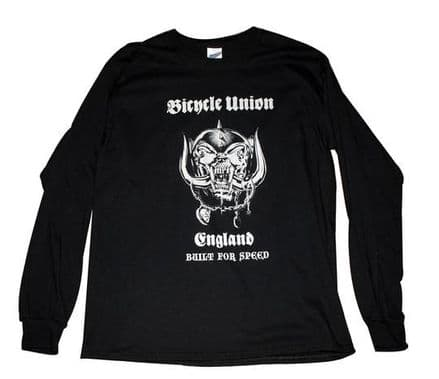 Union Built For Speed Long Sleeve Black Large