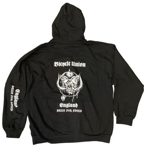Union Built For Speed Zip-Up Hooded Sweat Black Large