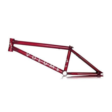 "Volume Voyager Frame 21"" Translucent Red"