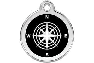 Red Dingo Dog Tag Compass