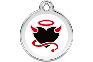 Red Dingo Dog Tag Devil