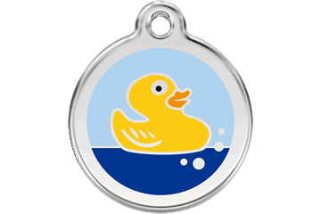 Red Dingo Dog Tag Duck