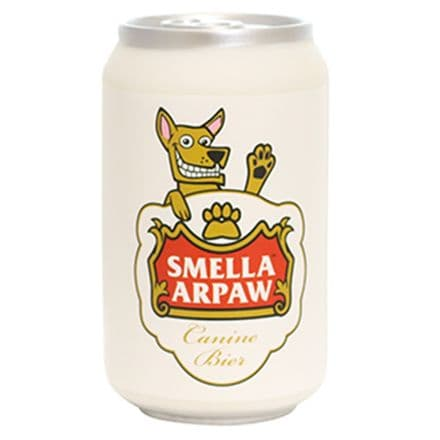 Silly Squeaker Beer Can -  Smella Arpaw