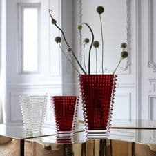 Baccarat Eye Rectangular Vase 200 - Available in a variety of colours