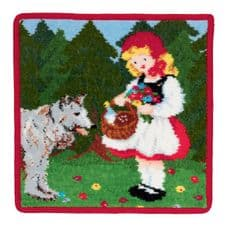 Feiler Fairy Tale Washcloth -Little Red Riding Hood