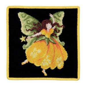 Feiler Fairy Washcloth - Yellow