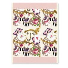 Feiler x EP 'English Tea Party' Guest Towel - Powder Pink