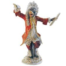 Meissen Monkey Band - Figurine of a Conductor
