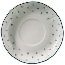 Richard Ginori Royal Blue Soup Saucer