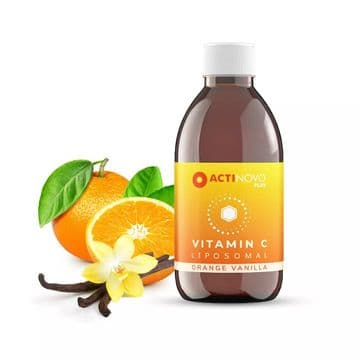 Liposomal Vitamin C + Orange-Vanilla 250ml