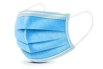 Premium 3ply Surgical Type IIR Face Masks - Medical Fluid Protection, 98% BFE, EN14683:2019