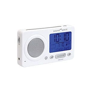 Sound Oasis Travel Sleep Sound Therapy System (White)