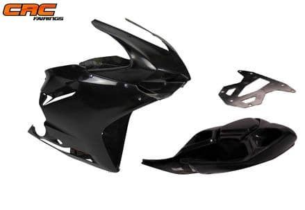 Ducati 899/1199 Panigale CORSE 2012> Complete Set of Race Fairings with Seat & Airtube