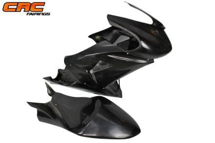 Kawasaki ZX10R 2006-2007 Complete Set of CRC Race Fairings & Seat with Seatpad