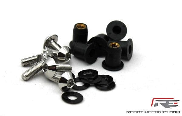 Reactive Parts Screen Bolt Kit, stainless steel