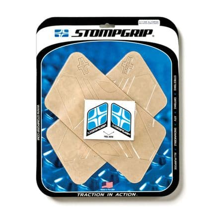 "Stompgrip All Purpose Traction Kit Smoothridge Quadrilaterals : (2) 5"" X 10.75"""