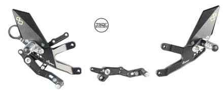 LighTech BMW S1000RR / HP4 2015-2018 Adjustable Rearsets