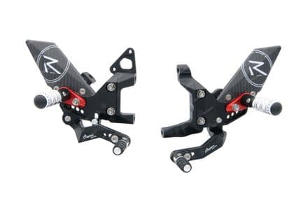 LighTech Ducati Panigale 899/1199/959/1299 12-17 / V2 2020>'R' Version Adjustable Rearsets