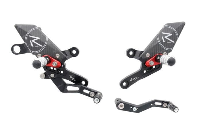 LighTech Honda CB1000 R 2018> 'R' Version Adjustable Rearsets