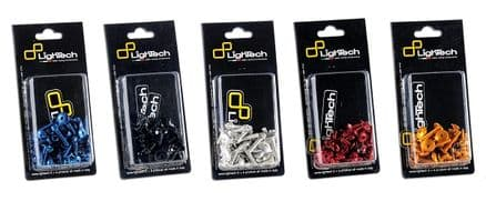 LighTech Kawasaki Ninja 300 2013> Fairing Bolt Kit (45 Pcs)