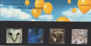 2000 Above and Beyond Presentation Pack Number 307