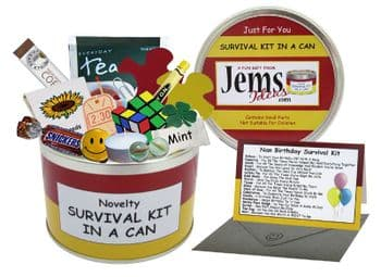 Nan Birthday Survival Kit In A Can