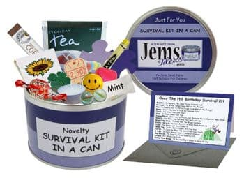Over The Hill Survival Kit In A Can