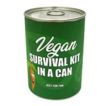 Vegan Survival Kit In A Can