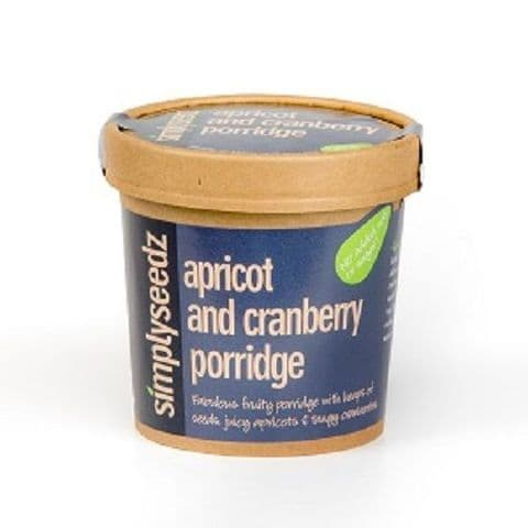 Apricot & Cranberry Instant Porridge Pot 60g