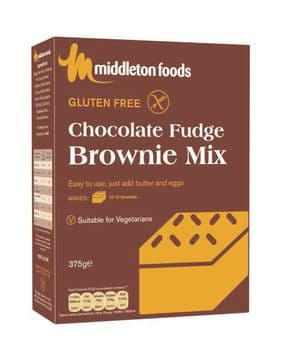 Middleton's Chocolate Fudge Brownie Mix 375G