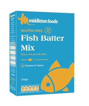 Middleton's Fish Batter Mix 375G