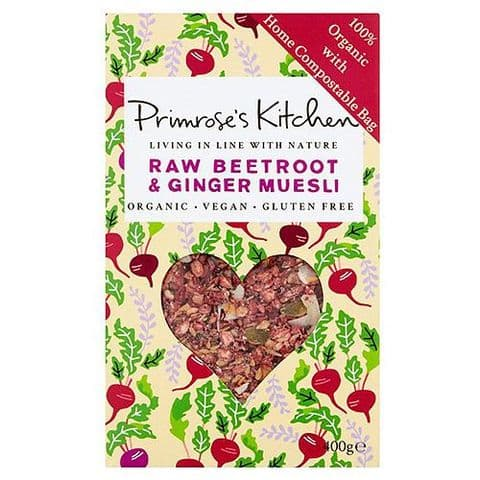Primrose`s Kitchen Raw Beetroot & Ginger Muesli 300g