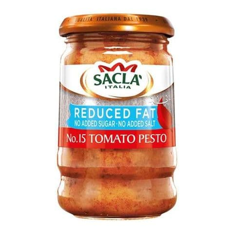 Sacla' Reduced Fat Tomato Pesto 190g