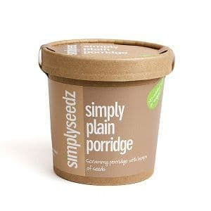 Simply Plain Instant Porridge Pot 60g