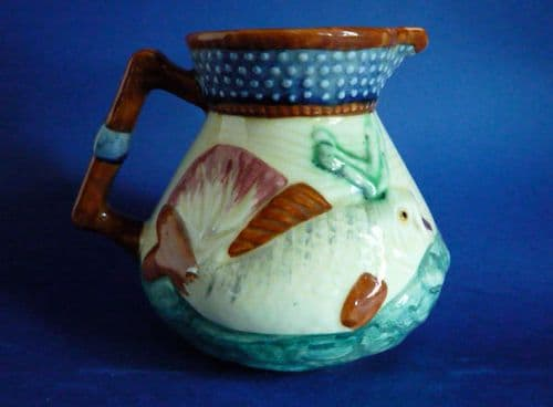 Classic Shorter & Son 'Oceanic' Seascape with Fish Jug c1935 (Sold)