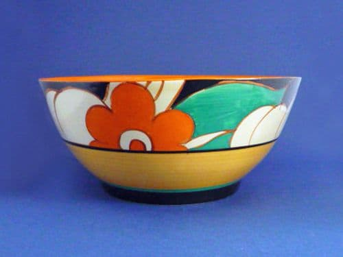 Early Clarice Cliff Fantasque 'Floreat' Havre Bowl c1930 (Sold)